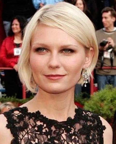 Kirsten Dunst Haircut – Haircuts Models Ideas Pertaining To Fashionable Kirsten Dunst Bob Hairstyles (Gallery 12 of 15)