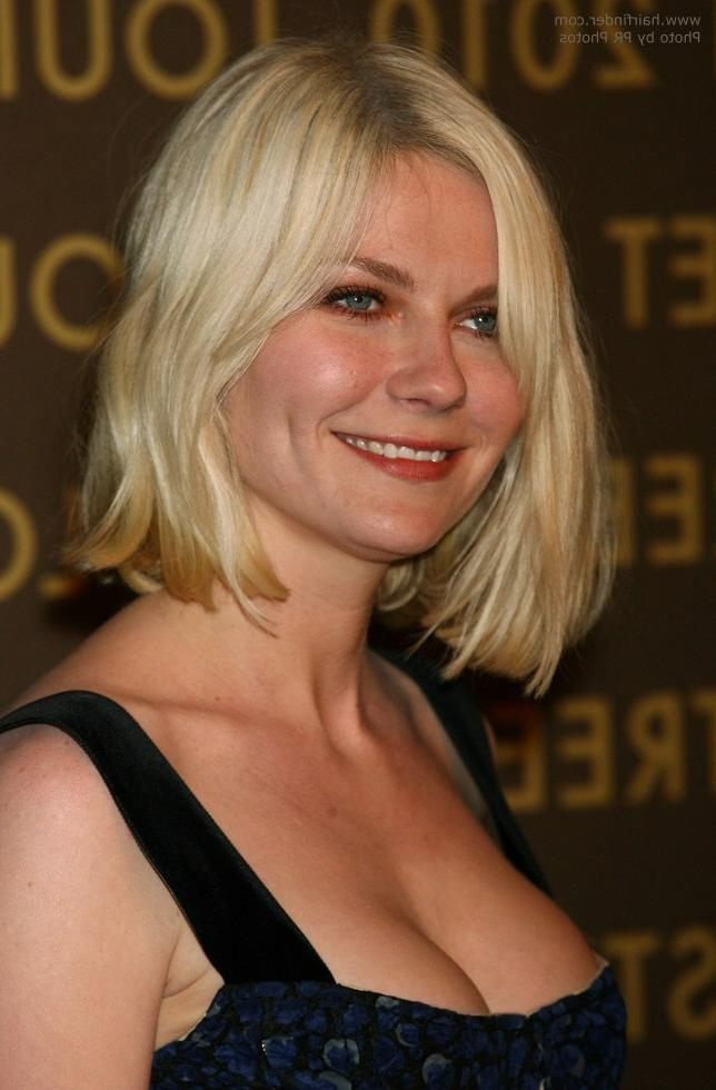 Kirsten Dunst Wearing Her Hair In A Bob With Waves Intended For Latest Kirsten Dunst Bob Hairstyles (View 4 of 15)