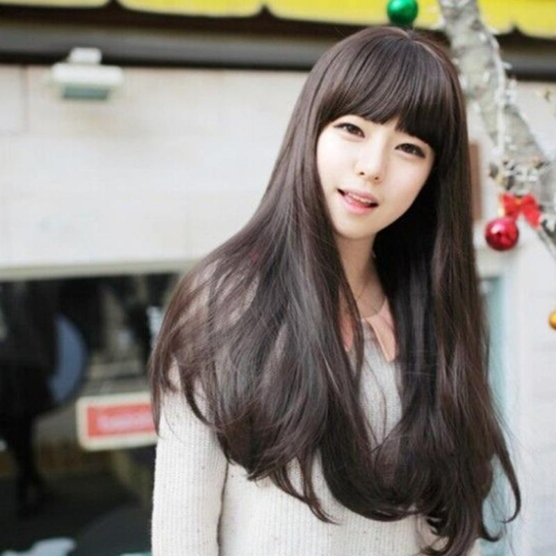 Korean Female Long Hairstyles – Modern Hairstyles In The Us Photo Blog Within Korean Long Hairstyles For Women (View 9 of 15)