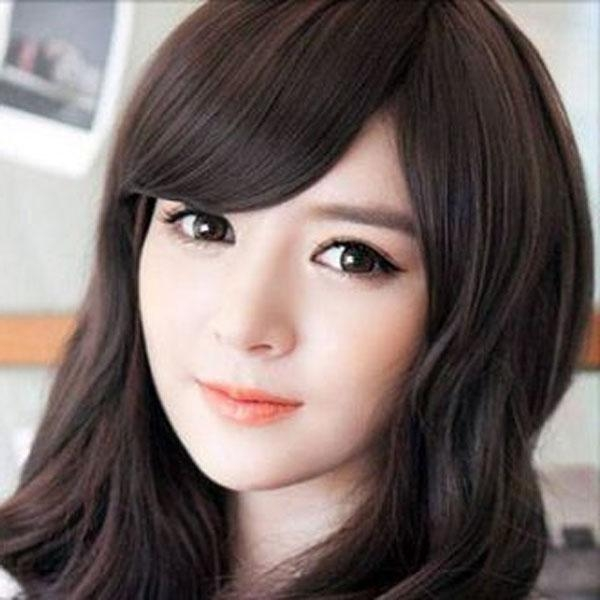 Korean Girls Hairstyles 2015 Throughout Korean Cute Girls Latest Hairstyles (View 8 of 15)