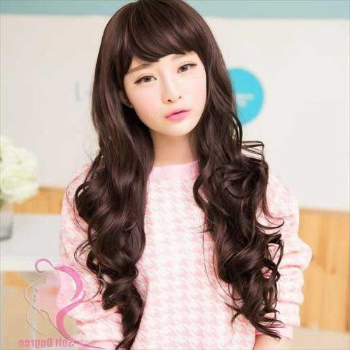 Featured Photo of Korean Long Haircuts For Women