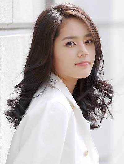 Korean Hairstyles For Girls 2011 From Han Ga In | Cute Girls Regarding Korean Hairstyles For Girls (Gallery 11 of 15)