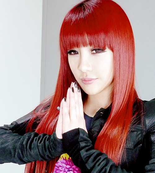 Korean Long Haircuts For Women With Red Hair Intended For Korean Long Haircuts For Women With Red Hair (View 14 of 15)