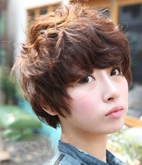 Korean Messy Short Hairstyles – Cool & Trendy Short Hairstyles 2017 Throughout Trendy Korean Short Hairstyles (View 8 of 15)