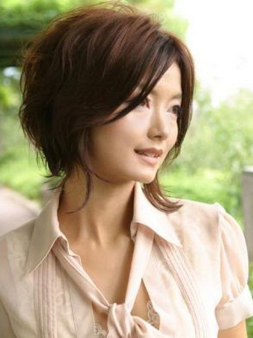 Korean Short Bouncy Bob Hairstyles – Cool & Trendy Short Intended For Trendy Korean Short Hairstyles (View 10 of 15)