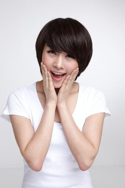 Korean Short Hairstyles For Women 2013 Pertaining To Trendy Korean Short Hairstyles (Gallery 12 of 15)