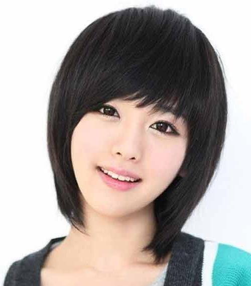 Korean Women Hairstyles 2013 Pertaining To Korean Women Hairstyles Short (Gallery 3 of 15)