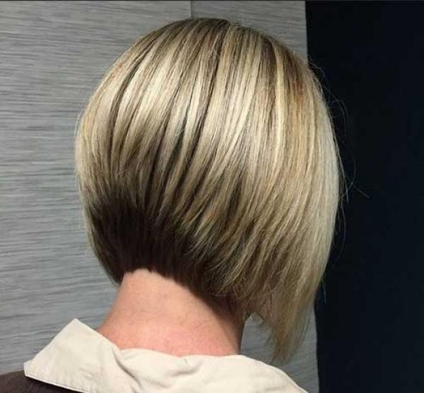 Latest Inverted Bob Hairstyles Back View For Hairstyle Viewnice Looking Haircuts All Seasons