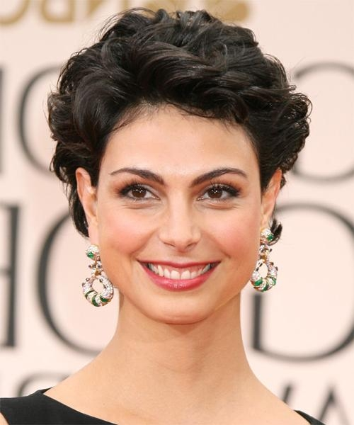 Latest Morena Baccarin Bob Hairstyles For Morena Baccarin Hairstyles For  (View 6 of 15)