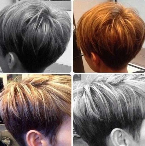Latest Short Inverted Bob Hairstyles Throughout Short Tapered Bob Haircuts – Haircuts Models Ideas (View 12 of 15)