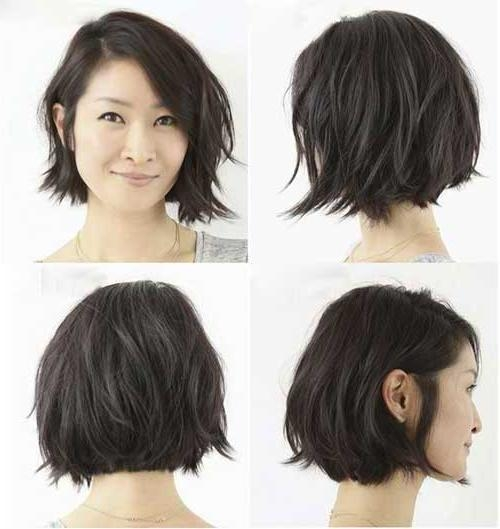 Latest Short Layered Bob Haircuts Pertaining To 25+ Latest Short Layered Bob Haircuts (View 5 of 15)