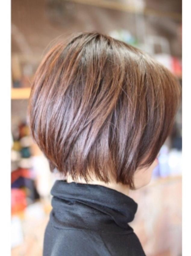 Layered For 2018 Short Layered Bob Hairstyles (View 6 of 15)