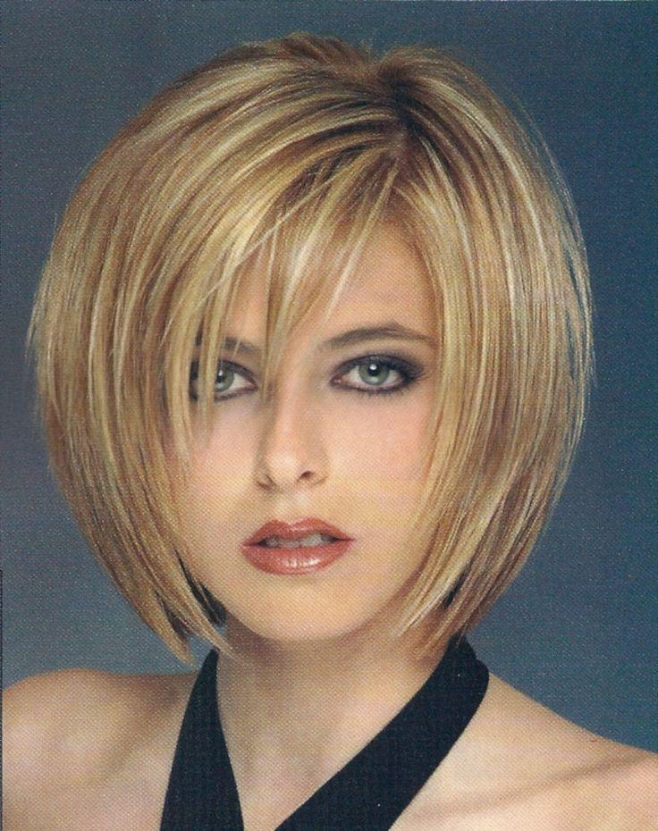 Layered For Fashionable Short Layered Bob Hairstyles For Fine Hair (View 8 of 15)