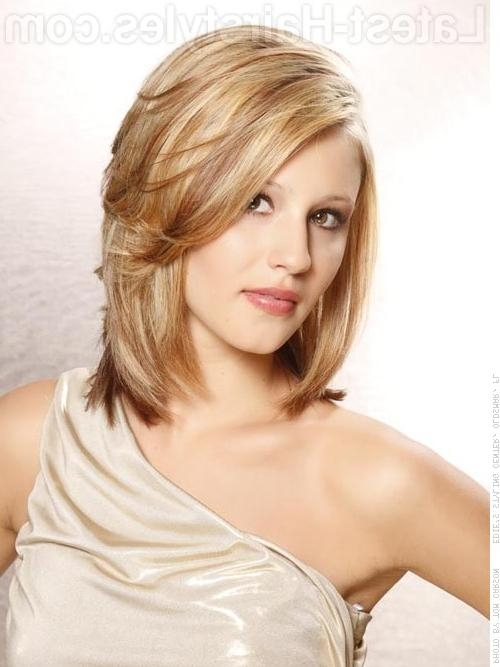 Layered Hairstyles Medium Length – Layered Hairstyles – Hairstyle Throughout Medium Hairstyles For Long Face (View 5 of 15)