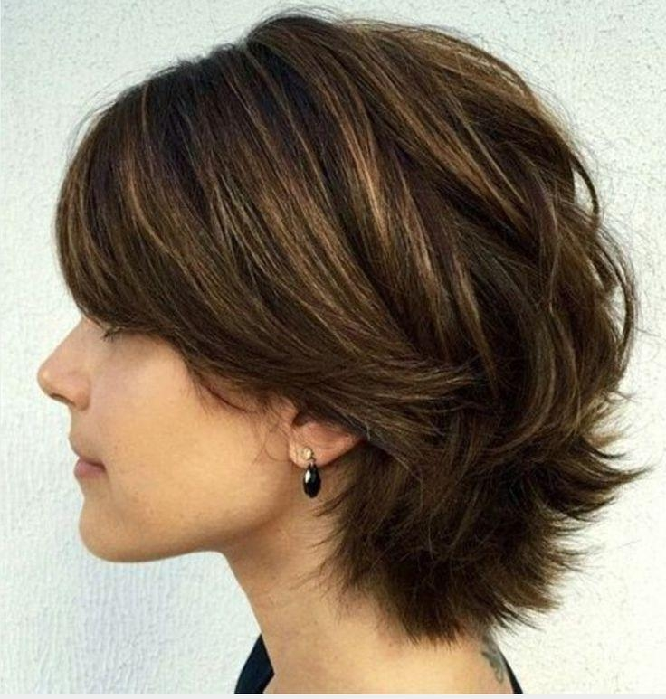 Layered Regarding Well Liked Short Layered Bob Hairstyles (View 7 of 15)