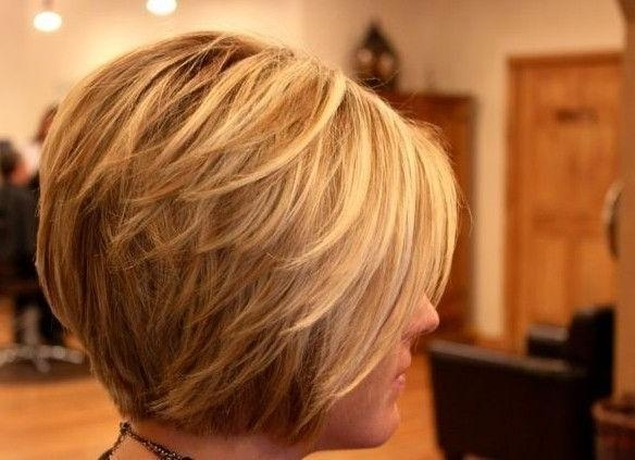 Layered Regarding Widely Used Layered Bob Hairstyles For Short Hair (View 9 of 15)