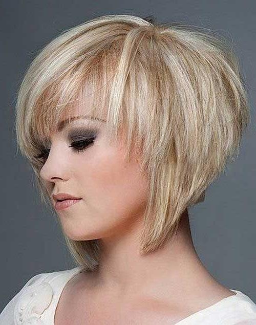 Layered With Regard To Most Recently Released Short Layered Bob Hairstyles With Bangs (View 5 of 15)