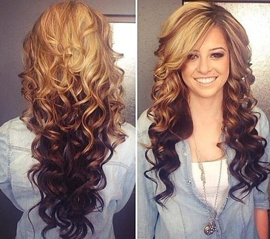 Layers For Long Curly Hair Long Layered Haircuts For Curly Hair Throughout Curled Long Hairstyles (View 12 of 15)