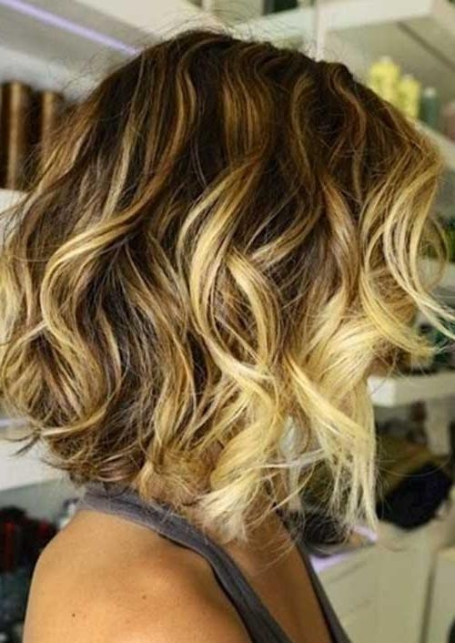 Length Soft Curly Bob Regarding Fashionable Medium Length Curly Bob Hairstyles (View 7 of 15)