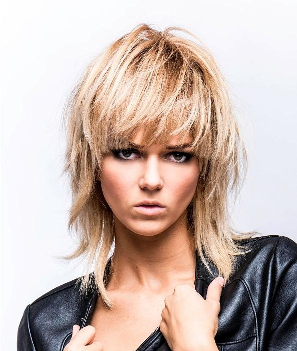 Long Choppy Hairstyles Intended For Long Blonde Choppy Hairstyles (View 7 of 15)