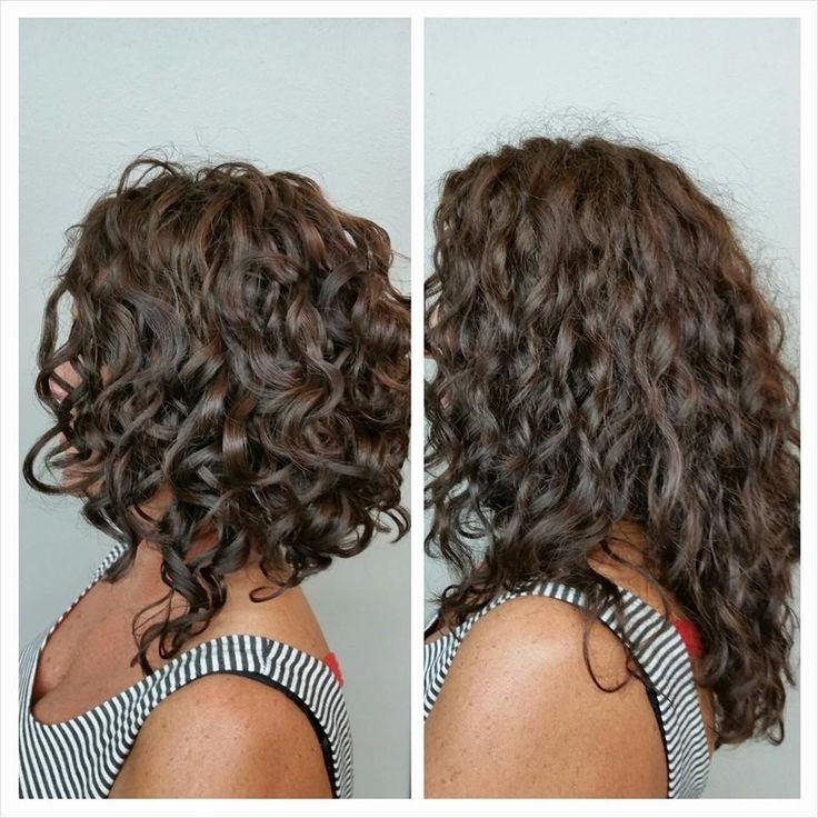 Long Curly Bob (View 2 of 15)
