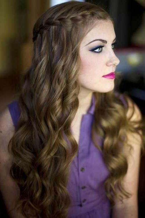 Long Hair Party Hairstyles – Hairstyles In Long Hairstyles For Party (View 5 of 15)