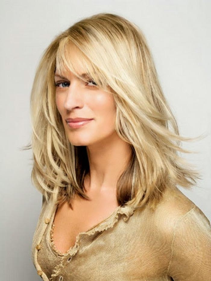 Long Hairstyles For Women Over 40 With Fine Hair Intended For Longer Hairstyles For Women Over  (View 12 of 15)