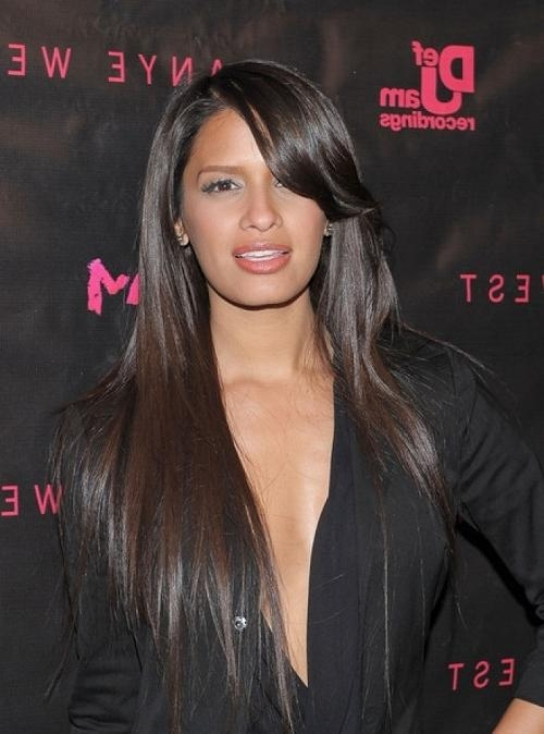 Long Layered Black Hairstyles Beauty Riot Black Long Layered In Long Layered Black Haircuts (View 10 of 15)