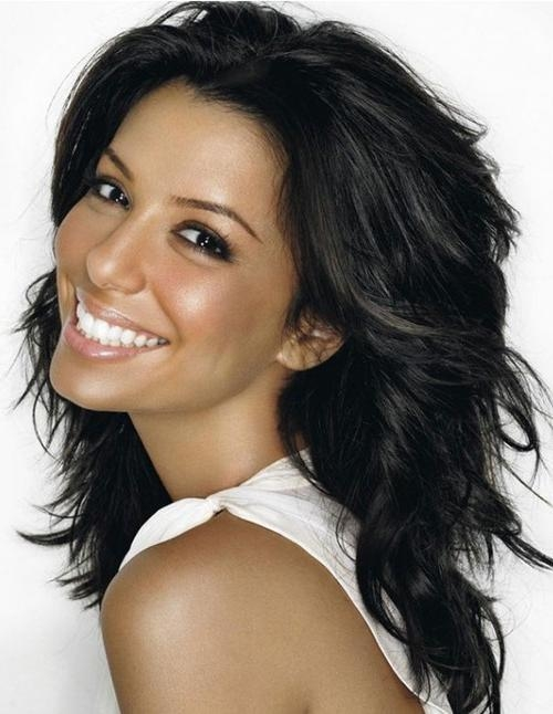 Long Layered Hairstyles Pertaining To Black Long Layered Hairstyles (View 8 of 15)