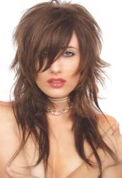 Long Shag Hairstyles – Billedstrom With Regard To Shaggy Layers Hairstyles For Long Hair (View 10 of 15)