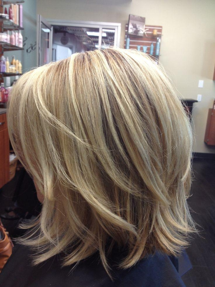 Longer Layered Bob With Regard To Well Known Medium Length Layered Bob Hairstyles (View 6 of 15)
