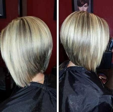 2018 Latest Medium Length Inverted Bob Hairstyles