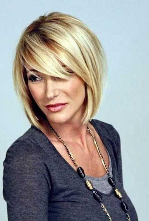 Medium Length Bobs Regarding Fashionable Bob Hairstyles (View 7 of 15)