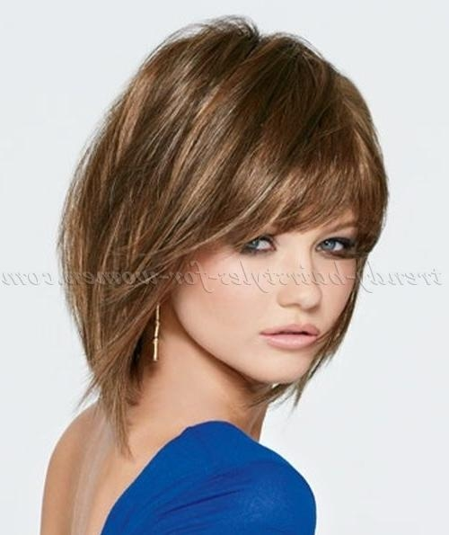 2019 Popular Medium Length Bob Hairstyles With Bangs
