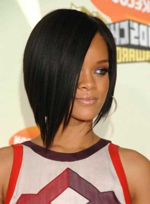 Featured Photo of Rihanna Bob Hairstyles