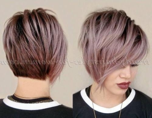 Most Current Short Asymmetrical Bob Hairstyles Regarding The 25+ Best Short  Asymmetrical Hairstyles Ideas On