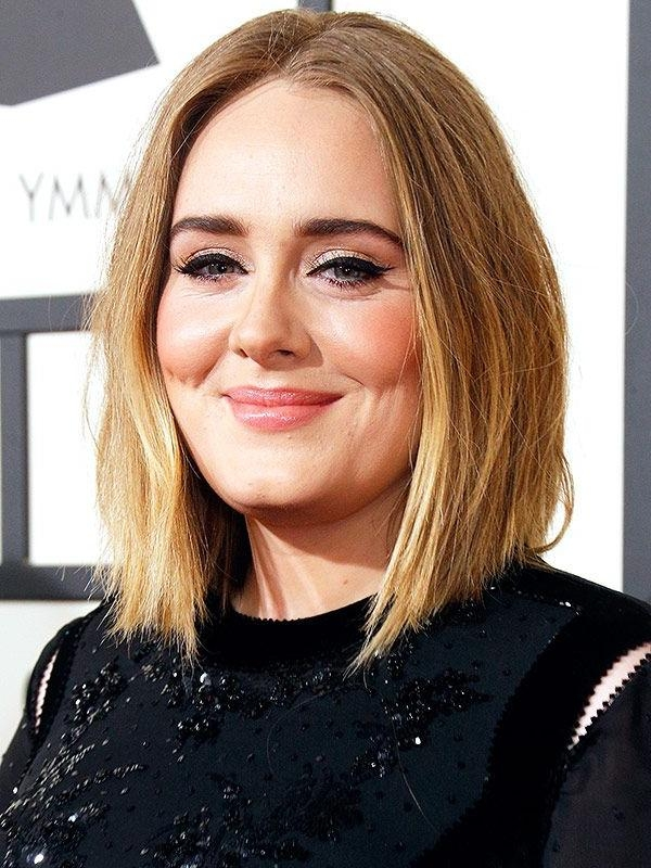 15 Photo Of Adele Shoulder Length Bob Hairstyles
