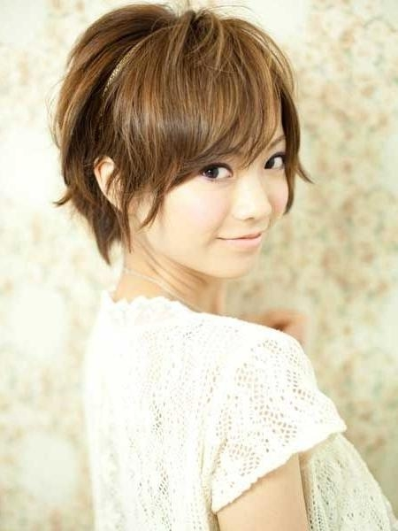 Most Popular Asian Hairstyles For Short Hair – Popular Haircuts Within Short Asian Hairstyles For Women (View 14 of 15)