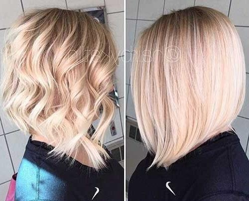 Most Popular Blonde Bob Hairstyles With The 25+ Best Blonde Bobs Ideas On Pinterest (View 11 of 15)