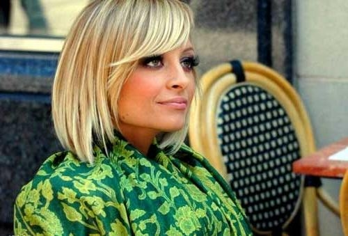 Most Popular Nicole Richie Bob Hairstyles Inside 15 Nicole Richie Bob Haircuts (View 6 of 15)