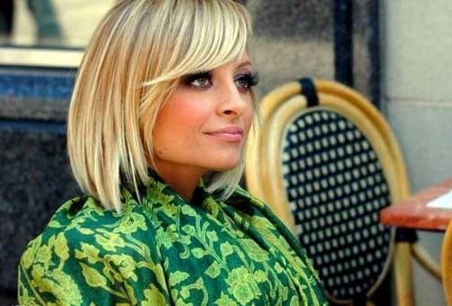 Most Popular Nicole Richie Bob Hairstyles Inside 15 Nicole Richie Bob Haircuts (Gallery 4 of 15)