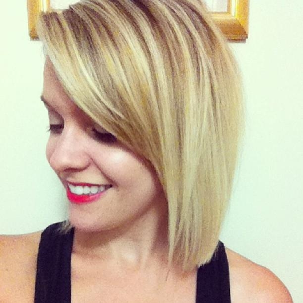 Most Popular Sleek And Simple Bob Hairstyles Within 22 Trendy Bob Hairstyles With Bangs – Popular Haircuts (View 13 of 15)