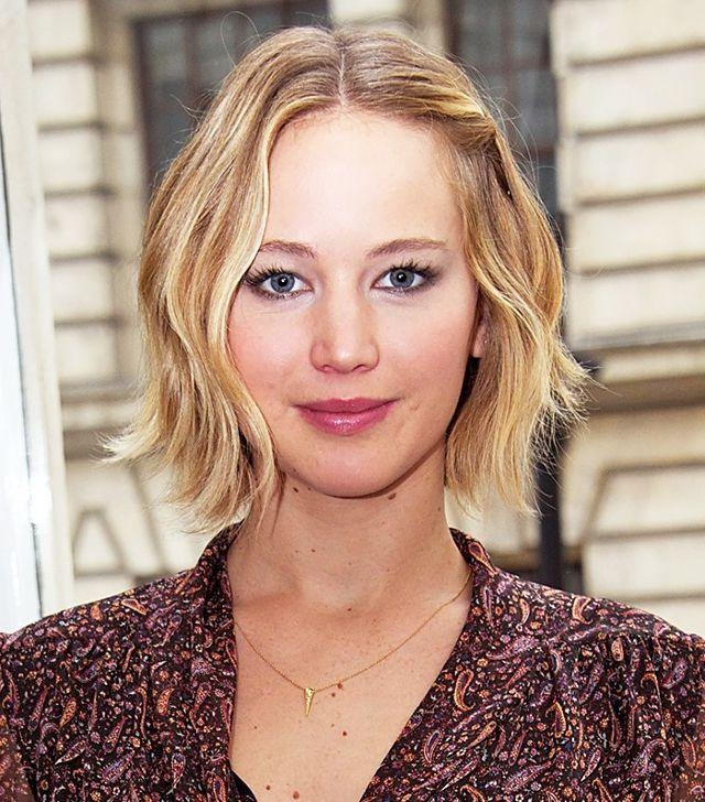 Most Recent Jennifer Lawrence Short Bob Haircuts Pertaining To Copy That: A Jennifer Lawrence Hairstyle For Every Day Of The Week (View 10 of 15)