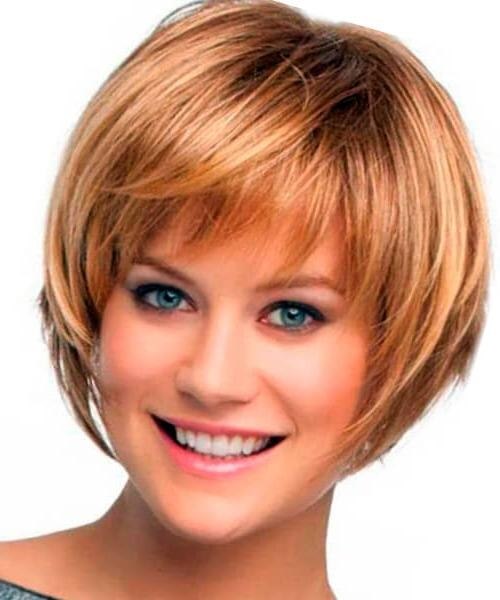2018 Popular Short Layered Bob Hairstyles For Fine Hair