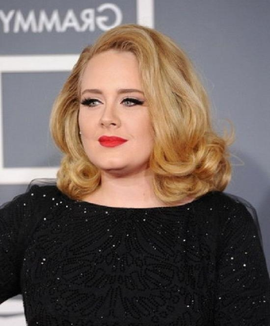 Featured Photo of Adele Shoulder Length Bob Hairstyles