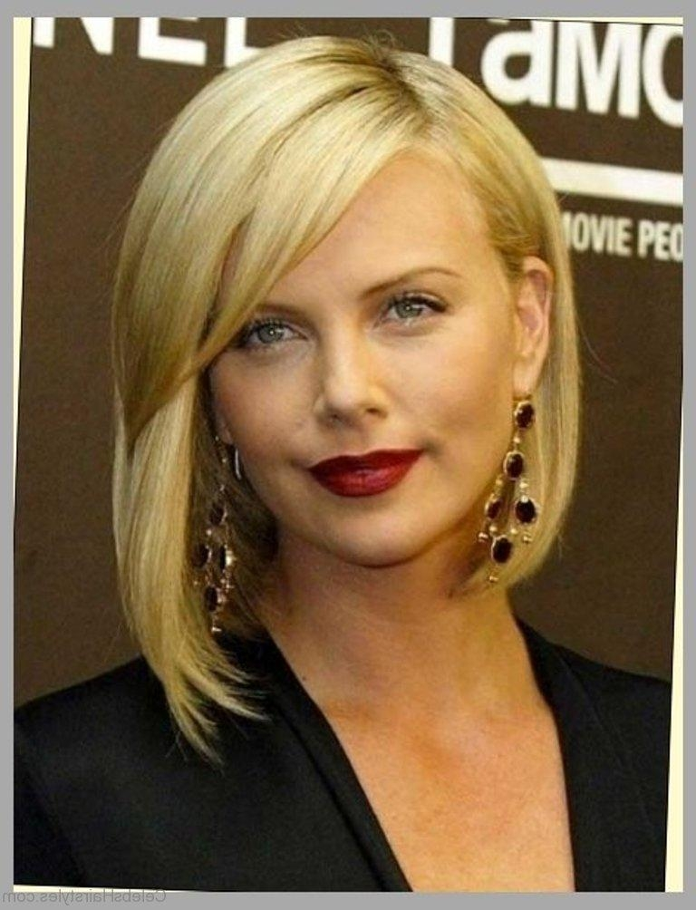 Most Up To Date Charlize Theron Bob Hairstyles Regarding 52 Beautiful Hairstyles Of Charlize Theron (View 14 of 15)