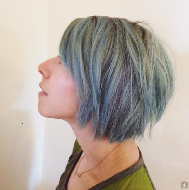Most Up To Date Short Colored Bob Hairstyles Intended For Modern Short Tousled Choppy Bob Haircut Hair Color – Pretty Designs (View 11 of 15)