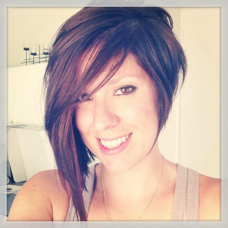 Most Up To Date Stylish Asymmetrical Bob Hairstyles Inside Best 25+ Asymmetrical Hair Ideas On Pinterest (View 9 of 15)