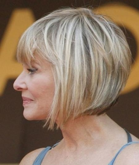 Newest Bob Hairstyles For Old Women With Thin Hair Throughout 35 Short Hair For Older Women (View 3 of 15)