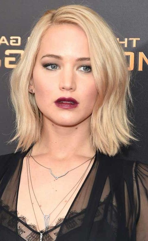 Newest Jennifer Lawrence Short Bob Haircuts Regarding 20 Best Jennifer Lawrence With Short Hair (View 12 of 15)